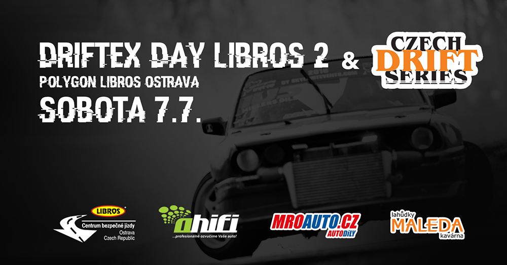 Driftex day Libros & Gymkhana & Czech drift series