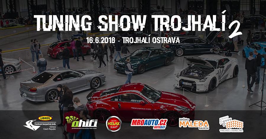 Tuning show Trojhalí 2018
