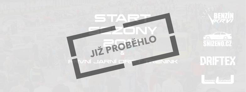 START Sezóny 2017 - Sraz Sníženo.cz a první jarní driftovačka