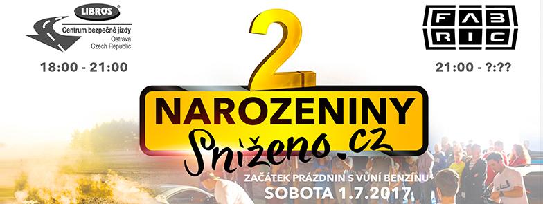 SPRINT SLALOM & 2.narozeniny Sníženo.cz
